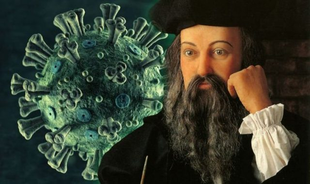 nostradamus prediction coronavirus